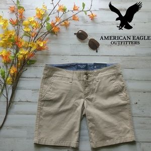 🌸NWT Chino Khaki Bermuda shorts by American Eagle